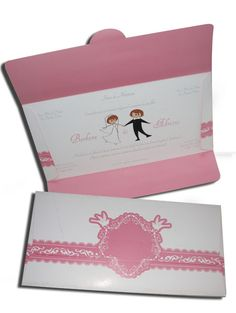 Convite de Casamento Romântico 09