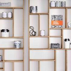 Ethnicraft - M Rack Teak - reol Bookcase Shelves, Display Shelves, Wall Shelves, Shelving, Bookshelves, Home Design, Interior Design, Tuscan Style, Decorative Storage