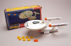 A Piece Of The Action: Dinky Toys Spotlight- U.S.S. Enterprise (358) I wish I still had mine
