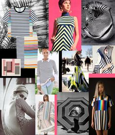 A striped collage by Liz Nehdi. How do you take your stripes: classic or a little bit crazy? See the full collage and weigh in at http://liznehdi.com/blog/2014/3/26/a-striped-life