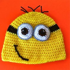 Despicable Me Inspired Hat  2 Eye'd Minion by InChains on Etsy, $23.00