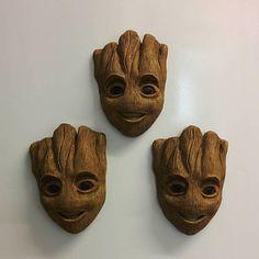 Baby Groot inspired magnet  Cute  Gift Idea  Handmade