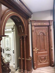 House Main Door Design, Grill Door Design, Door Gate Design, Wooden Door Design, Bungalow House Design, Wooden Doors, Man Cave Entrance, Room Partition Designs, Apartment Bedroom Decor