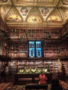 Morgan Library and Museum - New York, Etats-Unis