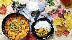 Dýňové kari s lilkem a zázvorem Food Design, Paella, Food Art, Vegetarian Recipes, Curry, Food And Drink, Veggies, Ethnic Recipes, Woman