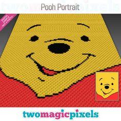 C2c Crochet Blanket, Crochet Blanket Patterns, Stitch Patterns, Crochet Blankets, Pixel Crochet, Crochet Chart, Crochet Baby, Corner To Corner Crochet, Crochet Disney