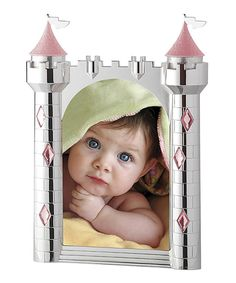 Take a look at this Pink Castle Frame I bought at zulily today!