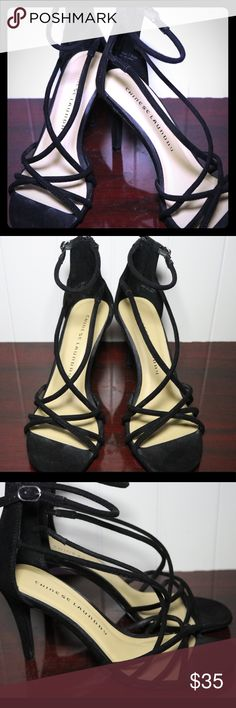 Chinese Laundry Sophia Sandal Gently used high heels. Minor scuffs from wear and storage but still in great condition. Chinese Laundry Shoes Sandals
