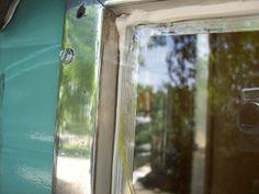 The Complete Vintage Travel Trailer Restoration Web Site - fixing windows