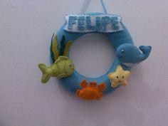 quarto do bebe com tema fundo do mar - Pesquisa Google