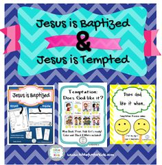 Projects & ideas for Jesus' Baptism and Temptation