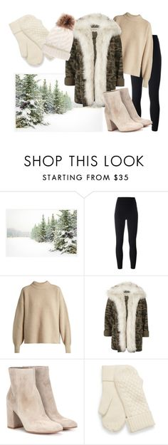 """""""Winter Wonderland"""" by annedenmark on Polyvore featuring Pottery Barn, adidas Originals, The Row, River Island and Gianvito Rossi"""