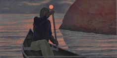 Sunrise, 1970 by Alex Colville on Curiator, the world's biggest collaborative art collection. Canadian Painters, Canadian Artists, New Artists, Lawrence Lee, 24. August, Order Of Canada, Jon Klassen, Alex Colville, Tate Gallery