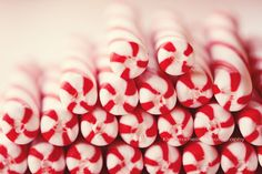 Candy Canes - 8x12 Fine Art Photography . peppermint . candy . christmas . holiday . red . white . fpoe . winter . photo. $30.00, via Etsy.