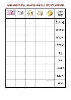 Objetivo(s):  Reforzar los números y las operaciones aritméticas para completar cantidades representadas por monedas. … Leer más