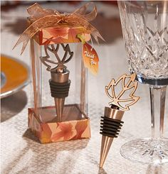 wine stopper favor, but hate the packaging