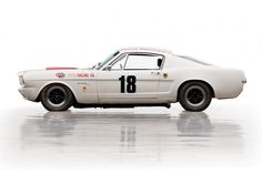 1965 Shelby R Then the car went to Mexico with racer Freddy van Buren, taking on a Mexican racing livery. This car won the SCCA Southwest Division title in 1966 with van Buren behind the wheel. Ford Mustang 1964, Ford Mustang Shelby Cobra, 65 Mustang, Ford Shelby, Mustang Fastback, Shelby Auto, Ford Svt, Shelby Gt350r, Vintage Mustang