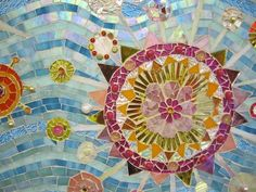 detail of mosaic by Erin Rogerts