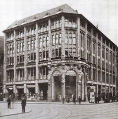Berlin, Leipziger Straße, Modehaus Tuteur, Umbau 1912, Hermann Muthesius.