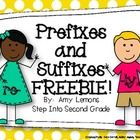 Need a few activities for prefixes and suffixes?!  Heres what youll find in this little freebie: -Prefix flapbook with labels -Prefix sort -Suffi...