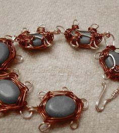 Wire Wrapped Turtle Bracelet