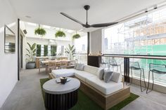 From Prison Cells to Green Oases: The Block Terraces Revealed