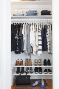 17 Minimalist Wardrobes That Will Make You Want To Throw Hal.- 17 Minimalist Wardrobes That Will Make You Want To Throw Half Your Clothes Out Why You Should Know About The French Wardrobe – Shira Gill Home -