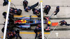 Seb with the RBR team, perfect combination!