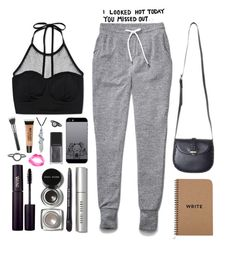 """""""You missed out"""" by mrs-nick-robinson ❤ liked on Polyvore featuring Wilfred, Bobbi Brown Cosmetics, Forever 21, INIKA, Illamasqua, Bling Jewelry, Topshop, Torrid, Maria Black and MAC Cosmetics"""