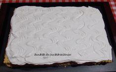 Prajitura cu blat de nuca si crema de cafea - Bunătăți din bucătăria Gicuței Biscuit, Desserts, Food, Tailgate Desserts, Deserts, Essen, Postres, Meals, Crackers