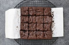PERFECT Gluten Free & Paleo Brownies - They're fudgy and rich, chocolatey and delicious, all without gluten, grains, or dairy! (Don't miss the VIDEO!)