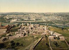 Holy Land | General view. Jerusalem. Holy Land]