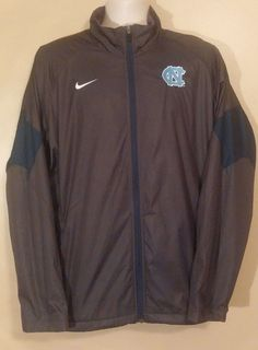 UNC Storm-Fit Jacket Official Large Mens University of North Carolina Tar-Heels #Nike #UniversityofNorthCarolina