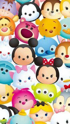 Disney Japan: Disney Tsum Tsum Puzzle:): Must Be, Tsumtsum Mickey . Cute Wallpaper For Phone, Cute Disney Wallpaper, Wallpaper Iphone Disney, Smile Wallpaper, Emoji Wallpaper, Wallpaper Ideas, Tsum Tsum Party, Disney Tsum Tsum, Fundo Tsum Tsum