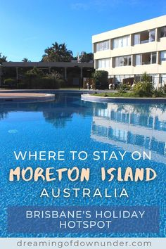 Find out the best things to do on Moreton Island, Brisbane, Australia, including Tangalooma Island Resort, camping grounds, Tangalooma wrecks, day trips and tours and how to get there by ferry. #australia #queensland #travelaustralia Brisbane City, Brisbane Australia, Australia Travel, Travel Expert, Travel Guides, Things To Do In Brisbane, Paradise Island, Island Resort, Sunshine Coast
