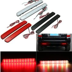 24 LED Rear Bumper Reflector Parking Brake Running Turning Light For Land Rover/Discovery 3 Turn Light, Land Rover Discovery, Car Lights, Turning, Led, Shopping, Wood Turning