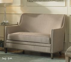 Elegant loveseat available from one of our vendors