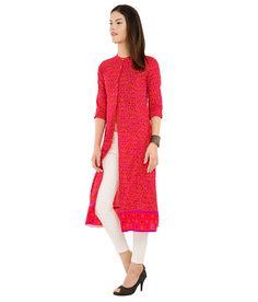 Vishudh Purple Cotton Front Slit Kurti Front Slit Kurti, Anarkali Dress, Desi, Cold Shoulder Dress, Purple, Sweaters, Cotton, Stuff To Buy, Shopping
