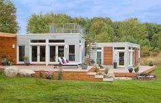 Casa Pré Fabricada Versátil Por Blu Homes - House Pre Fabricated Versatile For…