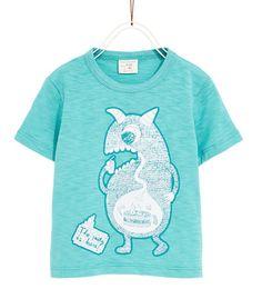 PARTY T-SHIRT-Short sleeve-T-SHIRTS-BABY BOY | 3 months-4 years-KIDS | ZARA United Kingdom