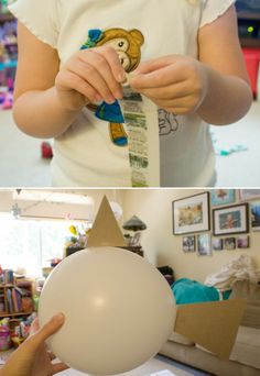 DIY Paper Mache Fish ~ Under the Sea Birthday Ideas |