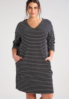 Junarose JRNEW DESIRE  - Jerseykleid - black für 39,95 € (31.01.17) versandkostenfrei bei Zalando bestellen.