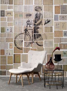 3 Biblioteca Wall Mural by Ekaterina Panikanova for NLXL No. 3 Biblioteca Wall Mural by Ekaterina Panikanova for NLXL The post No. 3 Biblioteca Wall Mural by Ekaterina Panikanova for NLXL appeared first on Tapeten ideen. Modern Chic Decor, Book Wall, Deco Originale, Burke Decor, Vintage Books, Cheap Home Decor, Wall Murals, Home Remodeling, Gallery Wall