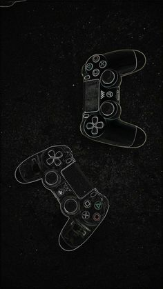drawn (using chalk) game controllers wallpaper Dark Wallpaper, Screen Wallpaper, Mobile Wallpaper, Video Game Posters, Video Game Art, Gaming Wallpapers, Cute Wallpapers, Playstation Logo, Xbox