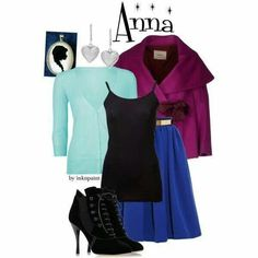 Anna from frozen clothes