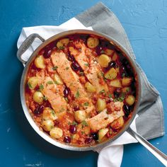Salmon and Potatoes in Tomato Sauce Recipe | Food Recipes - Yahoo! Shine
