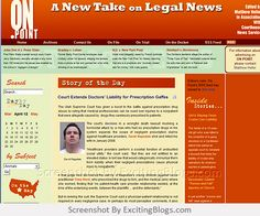 Legal News | onpointnews.com - Click to visit blog:  http://1.33x.us/ItMcHa