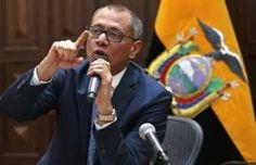 El vicepresidente de Ecuador, Jorge Glas, en Quito, el 21 de agosto de 2017 - AFP