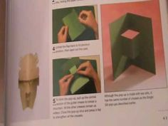 POP-UP HOW to MAKE 1-3 Step by Step Instructions for Creating over 100 O...