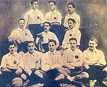 RCD Espanyol team group in 1904.